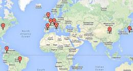 Globales Verkaufs- und Distributionsnetzwerk-